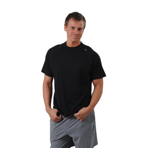 Mens Tasc Performance Carrollton T Short Sleeve Technical Tops - Black XXL