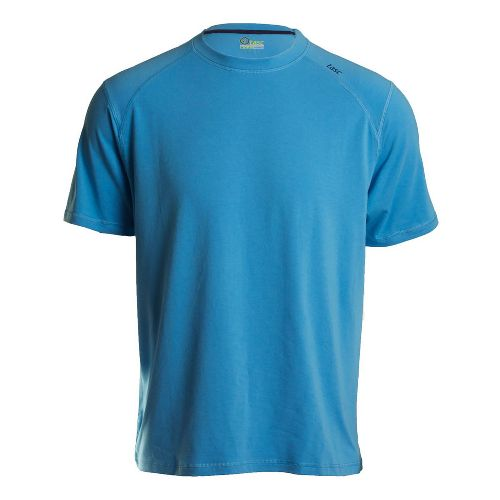 Mens Tasc Performance Carrollton T Short Sleeve Technical Tops - Blue Moon S