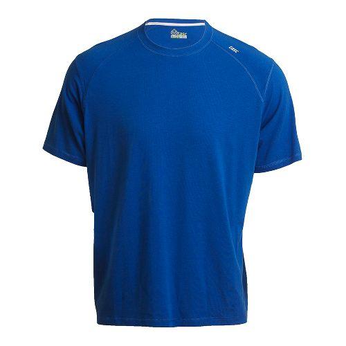Mens Tasc Performance Carrollton T Short Sleeve Technical Tops - Cobalt S