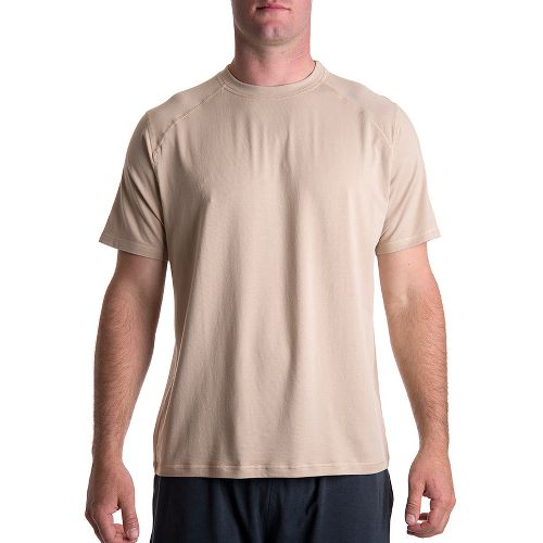 Mens Tasc Performance Carrollton T Short Sleeve Technical Tops - Desert Sand XXL