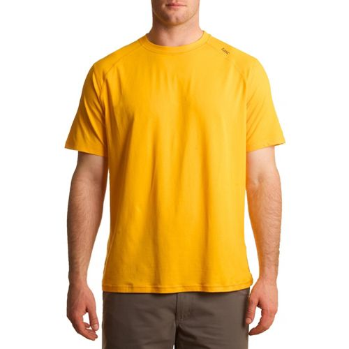 Mens Tasc Performance Carrollton T Short Sleeve Technical Tops - Golden M