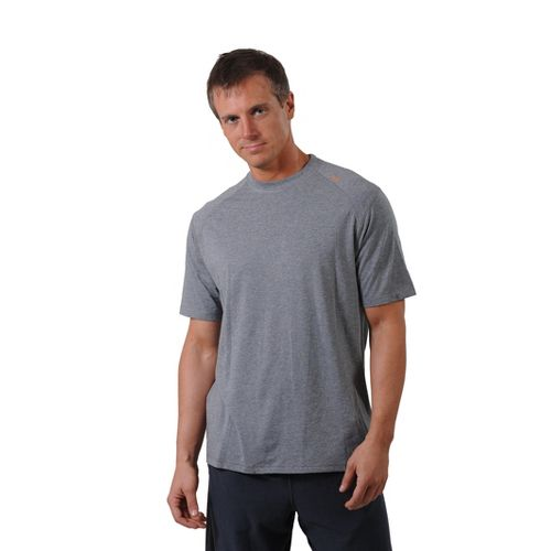 Mens Tasc Performance Carrollton T Short Sleeve Technical Tops - Heather Grey L