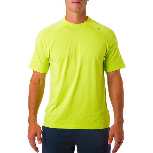Mens Tasc Performance Carrollton T Short Sleeve Technical Tops - Kryptonite L