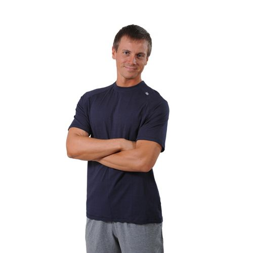 Mens Tasc Performance Carrollton T Short Sleeve Technical Tops - Navy L