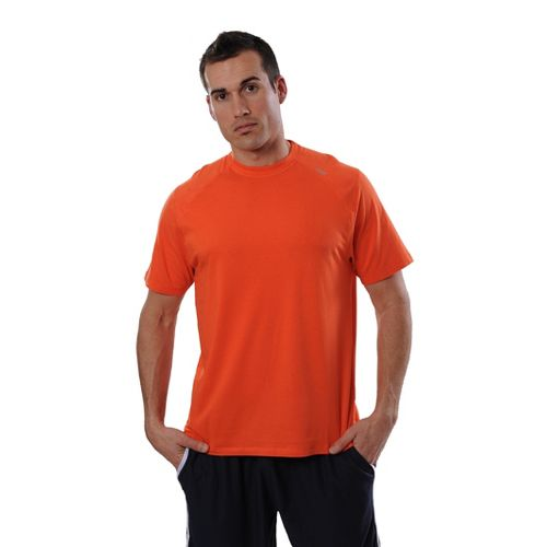 Mens Tasc Performance Carrollton T Short Sleeve Technical Tops - Orange S