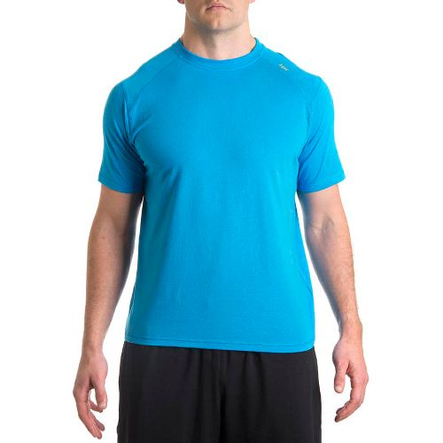 Mens Tasc Performance Carrollton T Short Sleeve Technical Tops - Tidal S