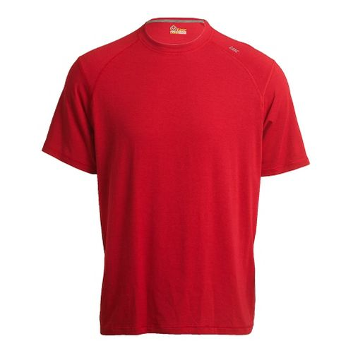 Mens Tasc Performance Carrollton T Short Sleeve Technical Tops - True Red L