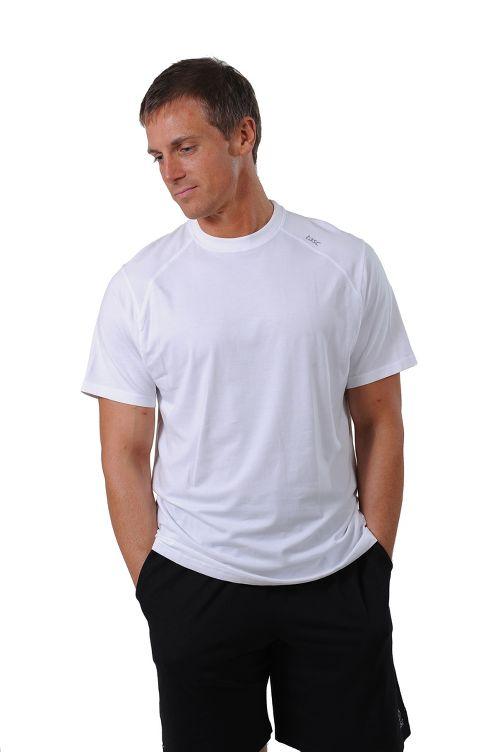 Mens Tasc Performance Carrollton T Short Sleeve Technical Tops - White XL
