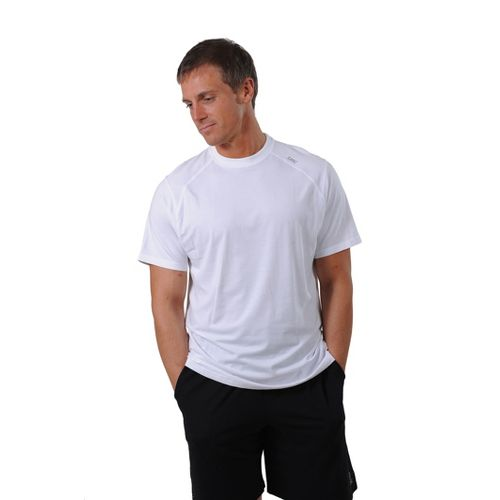 Mens Tasc Performance Carrollton T Short Sleeve Technical Tops - White L