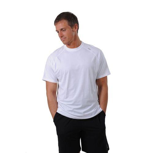 Mens Tasc Performance Carrollton T Short Sleeve Technical Tops - White M