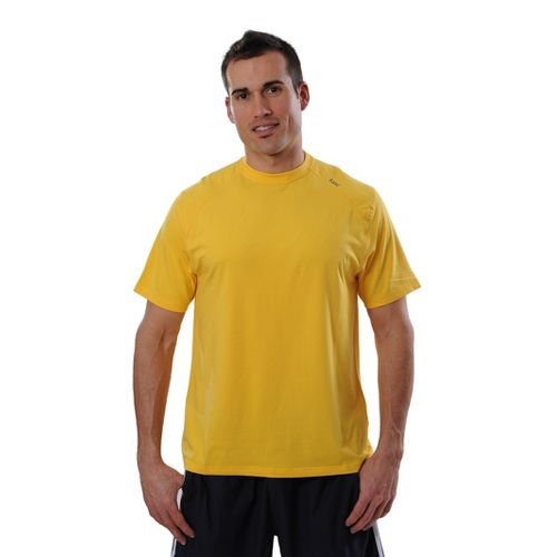 Mens Tasc Performance Carrollton T Short Sleeve Technical Tops - Yellowfin S