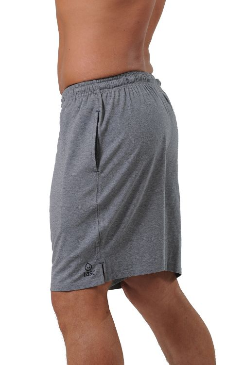 Mens Tasc Performance Vital Training Lined Shorts - Heather Grey L