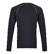 Mens Tasc Performance Hybrid Fitted Crew Long Sleeve Technical Tops