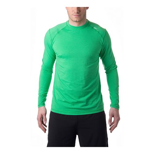 Mens Tasc Performance Beaver Falls Long Sleeve No Zip Technical Tops - Island Green XL ...