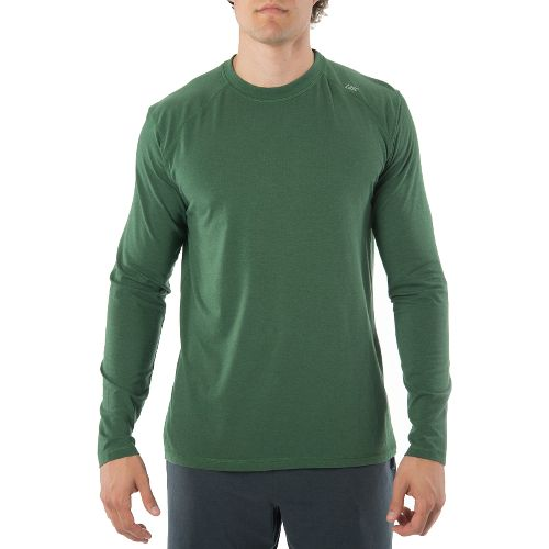 Mens Tasc Performance Beaver Falls Long Sleeve Technical Tops - Pine Green L