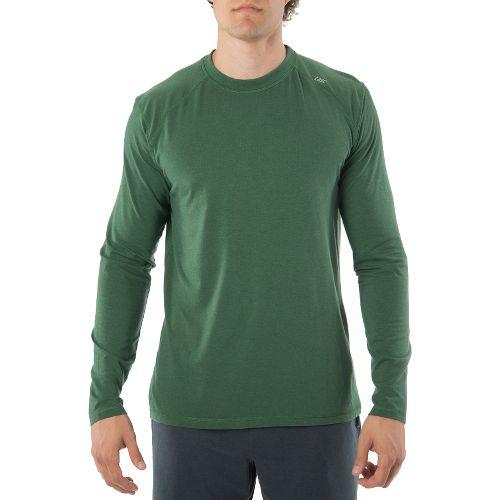 Mens Tasc Performance Beaver Falls Long Sleeve Technical Tops - Pine Green L