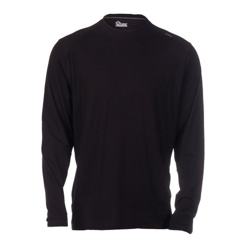 Mens Tasc Performance Beaver Falls Long Sleeve Technical Tops - Black XXL