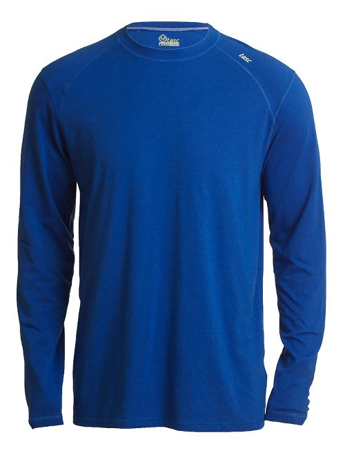 Mens Tasc Performance Beaver Falls Long Sleeve Technical Tops - Cobalt L