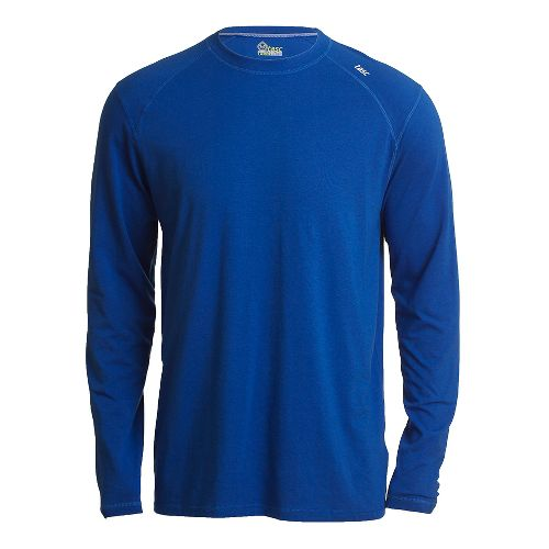 Mens Tasc Performance Beaver Falls Long Sleeve No Zip Technical Tops - Cobalt S