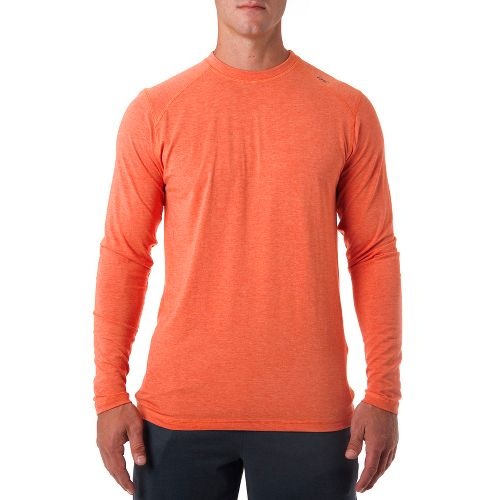 Mens Tasc Performance Beaver Falls Long Sleeve No Zip Technical Tops - Ember Heather M ...