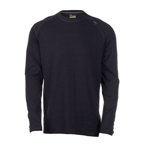 Mens Tasc Performance Beaver Falls Long Sleeve No Zip Technical Tops - Gunmetal M