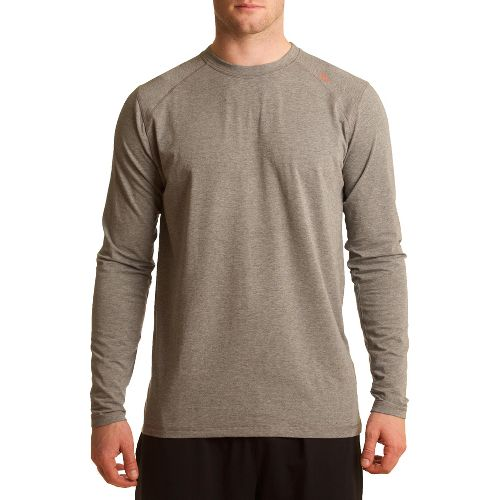 Mens Tasc Performance Beaver Falls Long Sleeve No Zip Technical Tops - Heather Grey M ...