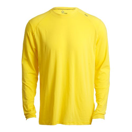 Mens Tasc Performance Beaver Falls Long Sleeve No Zip Technical Tops - Maize S