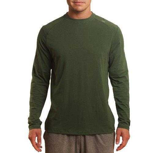 Mens Tasc Performance Beaver Falls Long Sleeve No Zip Technical Tops - Thriv Green XL ...