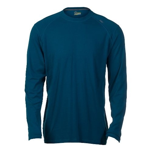 Mens Tasc Performance Beaver Falls Long Sleeve No Zip Technical Tops - Tundra L