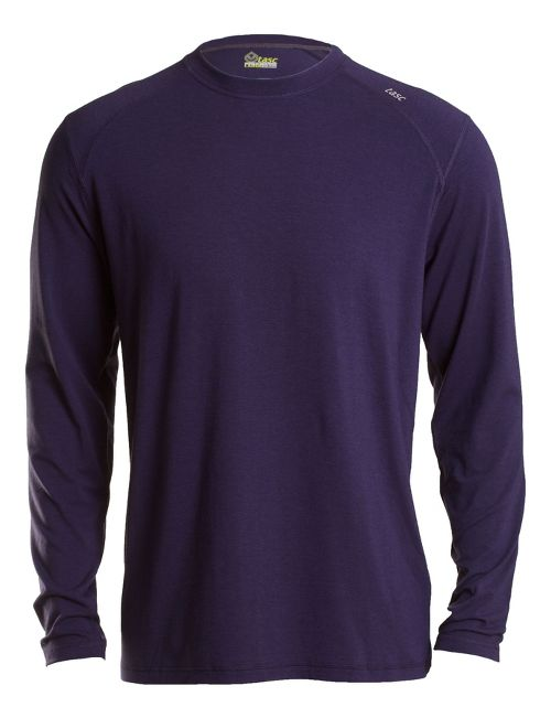 Mens Tasc Performance Beaver Falls Long Sleeve Technical Tops - True Navy XL