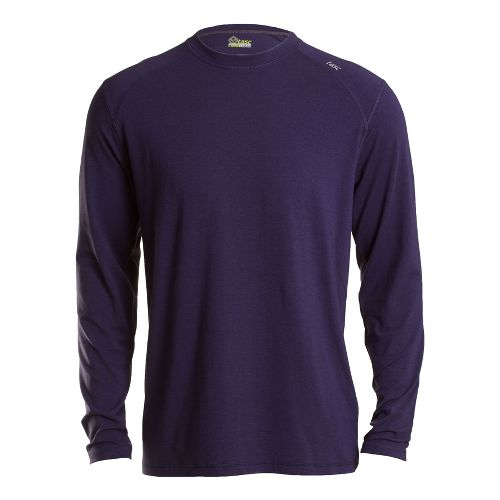 Mens Tasc Performance Beaver Falls Long Sleeve No Zip Technical Tops - True Navy M ...