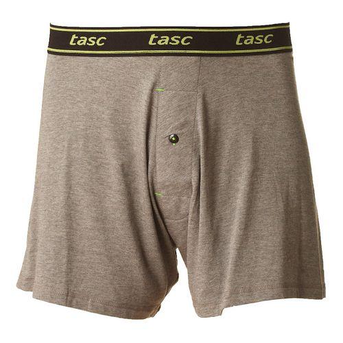 Mens Tasc Performance Boxer Underwear Bottoms - Heather Grey M