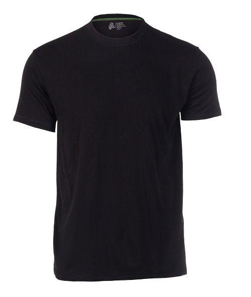Mens Tasc Performance Crew Neck Undershirt Short Sleeve Technical Tops - Black S