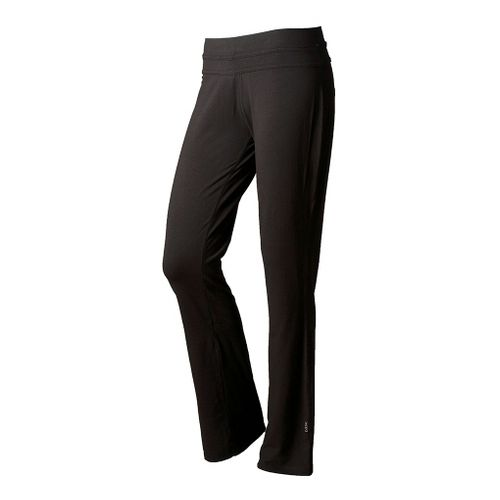 Womens Tasc Performance Loose Fit Training Full Length Pants - Black XS
