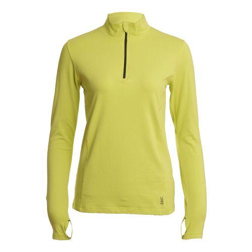 Womens Tasc Performance Sideline Long Sleeve 1/2 Zip Technical Tops - Daiquiri S