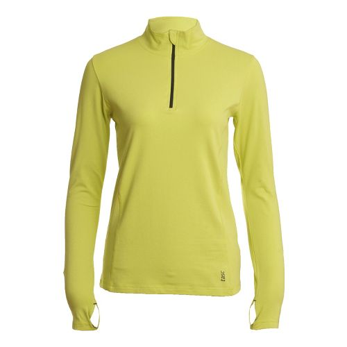 Womens Tasc Performance Sideline Long Sleeve 1/2 Zip Technical Tops - Daiquiri XL