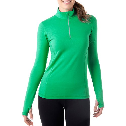 Womens Tasc Performance Sideline Long Sleeve 1/2 Zip Technical Tops - Rainforest XS