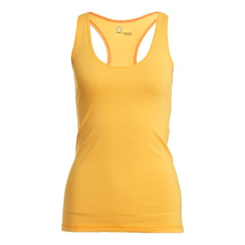 Womens Tasc Performance Basic Racer Tanks Technical Tops - Apricot M