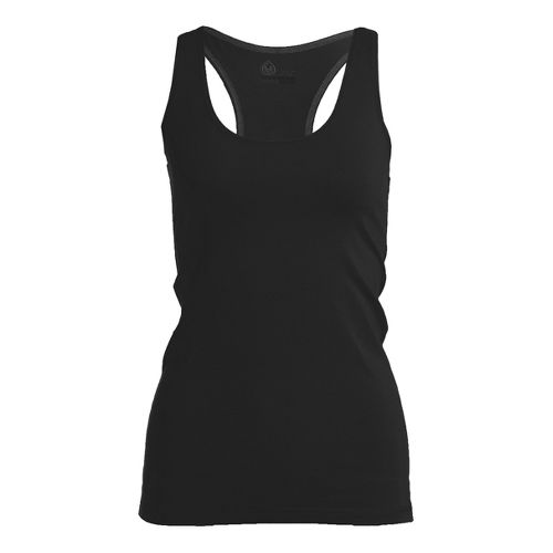 Womens Tasc Performance Basic Racer Tanks Technical Tops - Black M