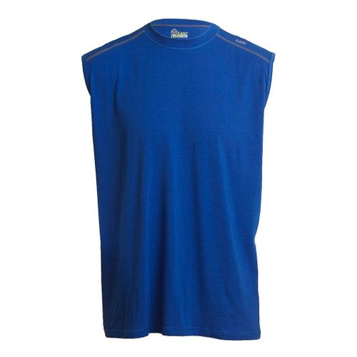 Mens Tasc Performance Core Sleeveless Technical Tops - Cobalt S