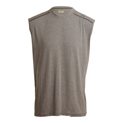 Mens Tasc Performance Core Sleeveless Technical Tops - Heather Grey L