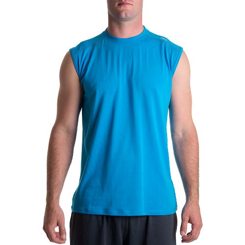 Mens Tasc Performance Core Sleeveless Technical Tops - Tidal M