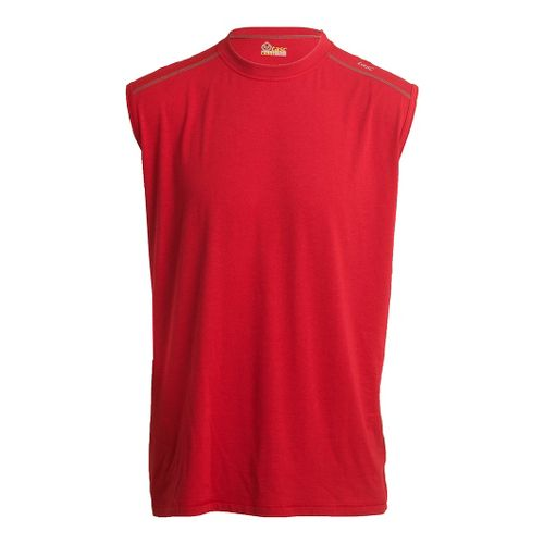 Mens Tasc Performance Core Sleeveless Technical Tops - True Red XL