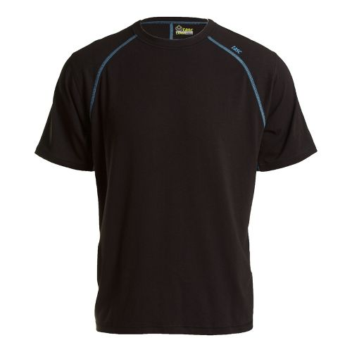 Mens Tasc Performance Blaze T Short Sleeve Technical Tops - Black/Blue Moon L