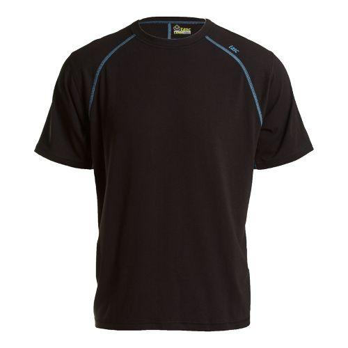 Mens Tasc Performance Blaze T Short Sleeve Technical Tops - Black/Blue Moon XL