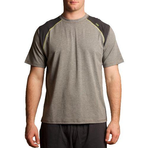 Mens Tasc Performance Blaze T Short Sleeve Technical Tops - Heather Grey/Kryptonite S