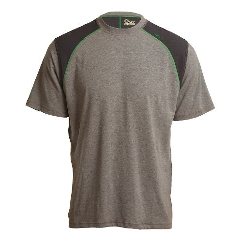 Mens Tasc Performance Blaze T Short Sleeve Technical Tops - Heather Grey/Turf M