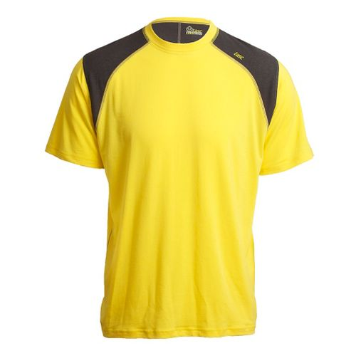 Mens Tasc Performance Blaze T Short Sleeve Technical Tops - Maize/Heather Grey S