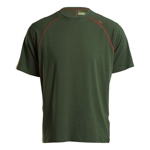 Mens Tasc Performance Blaze T Short Sleeve Technical Tops - Thriv Green/Lava XL