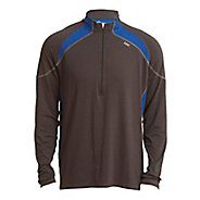 Mens Tasc Performance Accelerate Long Sleeve 1/2 Zip Zip Technical Tops